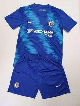 Uniforme de futbol Chelsea.