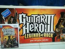 Guitar hero III con guitarra