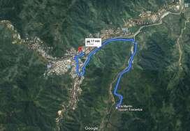 FINCA GANADERA DE 45 HECTAREAS A 15 MINUTOS DE ZAMORA, 65 KM DESDE LOJA