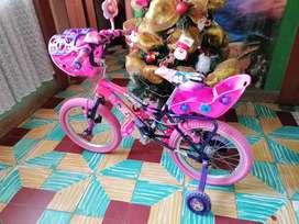 Bicicleta para niña como nueva