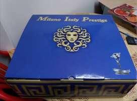 Juego De Ollas De Acero Quirúrgico  Milano Italy Prestige