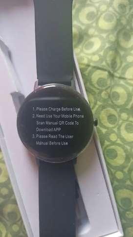 Smartwatch R18 sumergible táctil notificaciones de apps lector de ritmo cardíaco contador de pasos