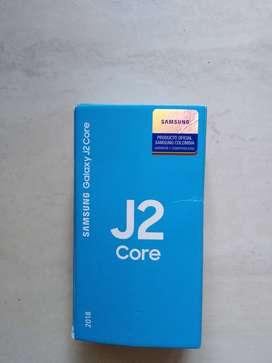 Vendo célular Samsung J2 core nuevo