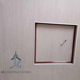 cielo rasos en pvc y drywall, construccion liviana