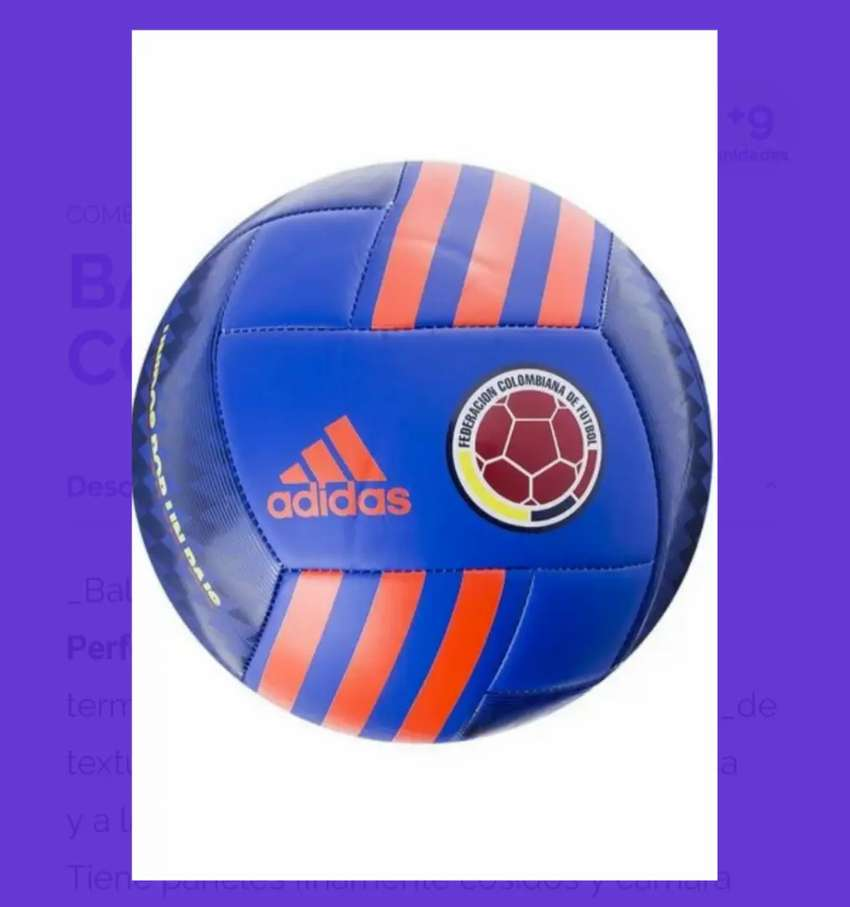 Balón colombia azul pide más modelos