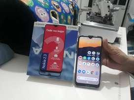 Nokia 2.3 Android 10, 20 días  de comprado.