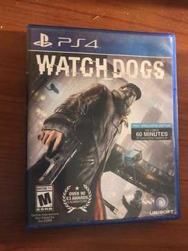 Watch dogs Ps4 Fisico