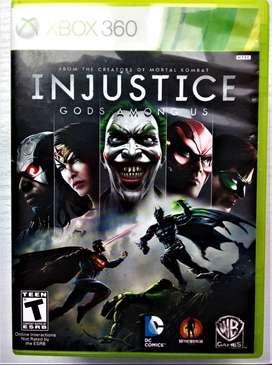 CD juego Xbox360  Injustice