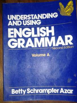 LIBRO DE ENGLISH GRAMMAR VOLUME A