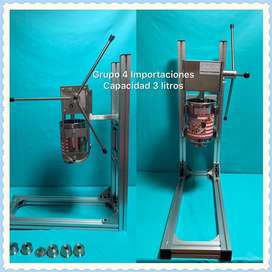 Maquina de churros 3 -5 y 7litros