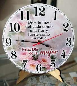 Lindos relojes para pared