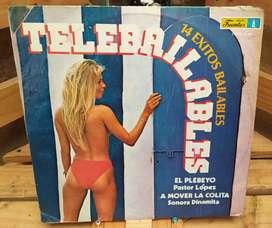 Long Play Lps Vinilo Acetato Pasta Vinyl TELEBAILABLES Vol 1 2 3 4