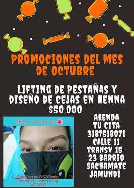Promociones del mes octubre
