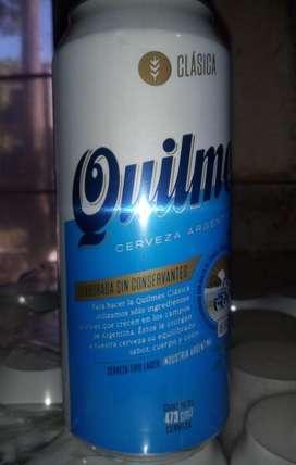 Pack quilmes cerveza de lata x24 unidades 473 cm3