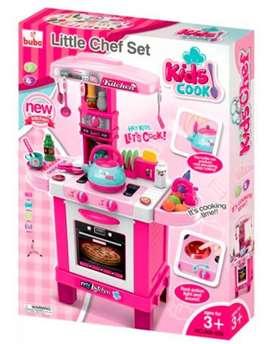 Cocinita little chef set infantil