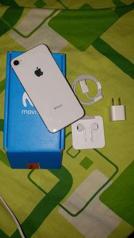 Iphone 8 SOLO MOVISTAR 64gb