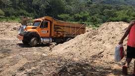 Venta de arena y materiales para construcion