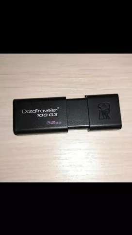 Kingston-memoria , nuevas ,  usb 3.0  original  de alta velocidad,  32GB .