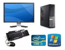 Oferta Pc Core I3  para Webcam