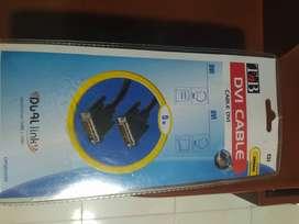 Cable DVI 5 metros