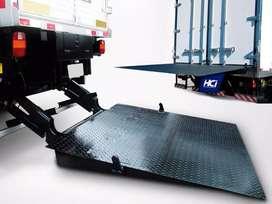 Plataforma hidráulica para 1500kg usada foto ilustrativa