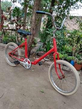 Vendo bicicleta Aurorita rodado 20 para adulto restaurada