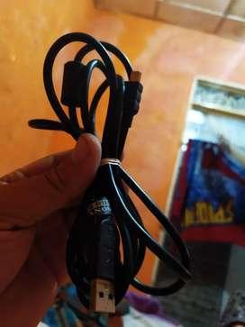 Cable carga y juega original Sony para play 3