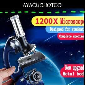 Microscopio para estudiantes