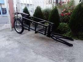 Remolque mono rueda