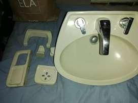 Vendo lavamanos usado