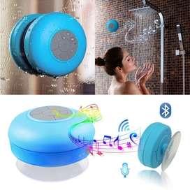 Parlante bluetooth resistente al agua con sopapa para baño ducha