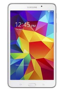 """Tablet Samsung Galaxy Tab 4 Quad Core -1.5GB RAM -7"""" color Blanco - Nueva en caja sin Usar + Certificado Importación"""
