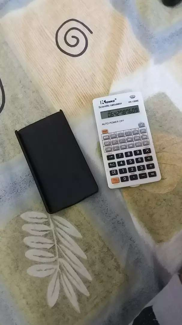 Vendo calculadora científica 0
