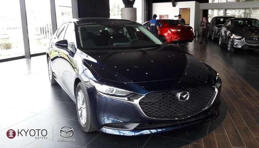 Mazda 3 Sedán Prime At 2020 Azul Metálico 0