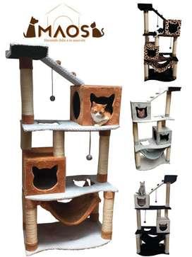 Gimnasio para gatos punto de fabrica