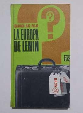 La Europa de Lenin por Fernando Diaz-Plaja