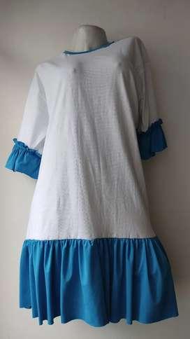 Lindo Vestido talla plus variedad de colores