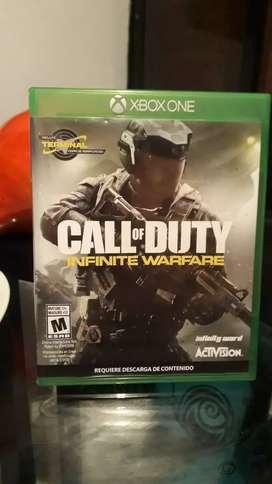 Call duty infinity warfare vendo o cambio