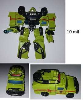 Transformers Movie 2006 Axe Attack Autobot Ratchet