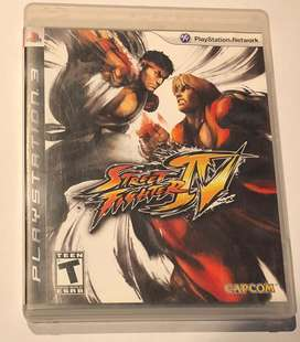 Juego Street Fighter IV PS3