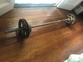 Barra para gym