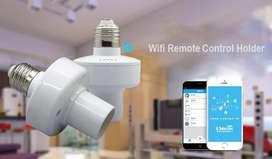 Plafones con wifi, se controlan con app o por medio de la voz.