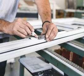 Busco oficial Carpintero de Aluminio