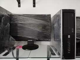 Oferta computadoras ddr3 para juego con 4 gb ram ddr3 disco 320 gb monitor 17 teclado mauso garantía