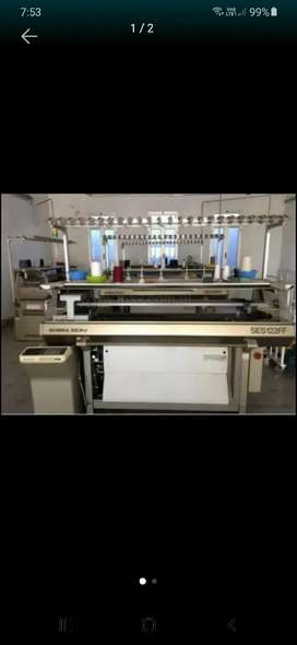 Servicio de tejeduría, maquinaria textil, maquina de tejer, galga 7 y 10