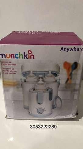esterlizador y calentador de tetero Munchink
