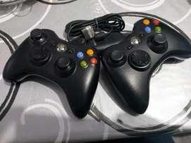 Joystick de xbox 360 y receptor para Pc