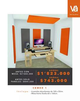 Acustica para home studio (combos)