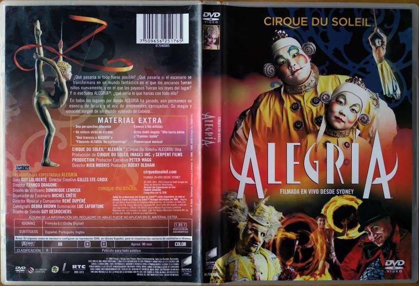 Cirque Du Soleil - Alegria 2009 (DVD Original)