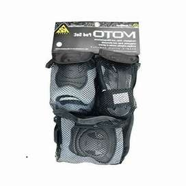 Kit Protecciónes Manos Codos Rodillas K2